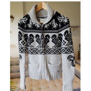 TNA by Aritzia Sea to Sky Wool Knit Sweater